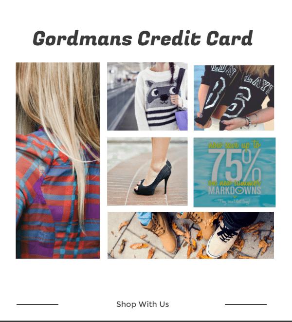 Gordmans Credit Card