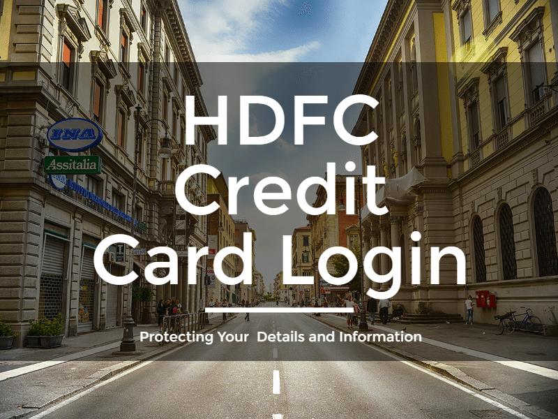 HDFC Credit Card Login